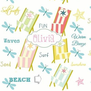 Ocean Way -Pacific  Personalized  cotton candy
