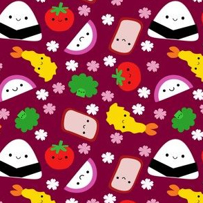 Bento Friends Burgundy