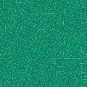 pine needles - green