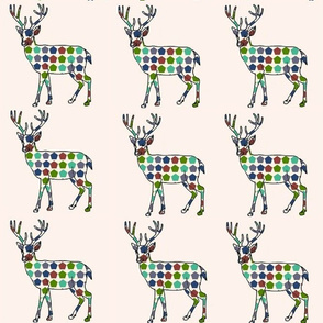 Arrow Ikat Deer