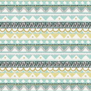southwest stripes mint