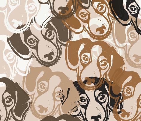 Beagles! - hand-carved design