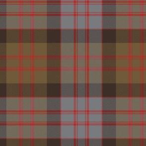 MacDonald tartan, weathered