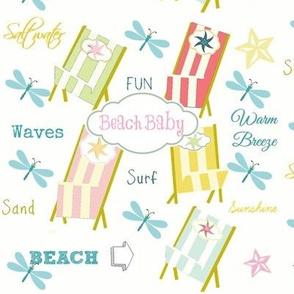 Ocean Way -Beach Baby-pink