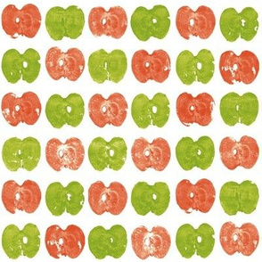 tiny apple prints