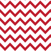 christmas chevron red XL