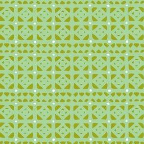 Veranda Geometric - Green
