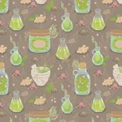 herbs pattern