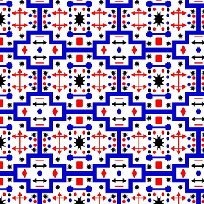 Red Blue Shapes