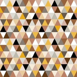 Triangles in yellow