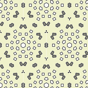 Abstract background ornament geometric vintage seamless pattern