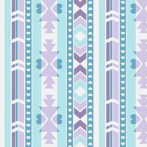 Southwest (Lilac & turquoise)