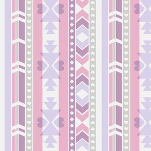 Southwest (Lilac & pink)