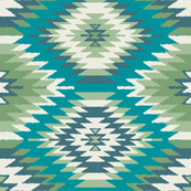 Navajo Dreams - Turquoise & Green