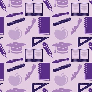 Back to School (Purple)
