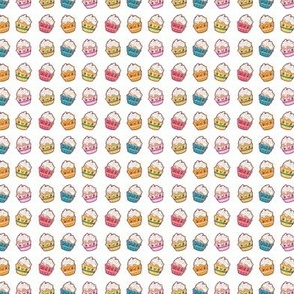 Cupcake Rainbow Print