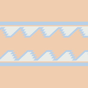 South of the Border Stripe No. 8