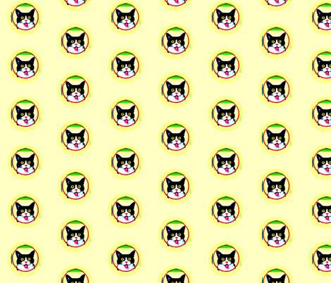 Bullseye Polka Dot Cats