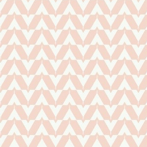 Teepee 4: small, coral and white