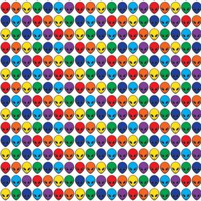 Rainbow Aliens