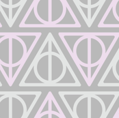 Pastel Potter - Purple/Gray Deathly Hallows