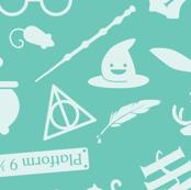 Pastel Potter - Teal