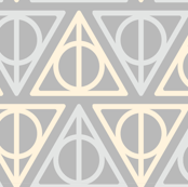 Pastel Potter - Yellow/Gray Deathly Hallows