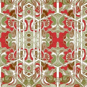 Red Green and Brown Hex