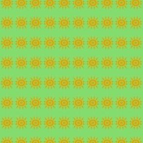 Tiny Suns Gold Green