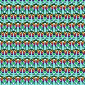 Kokopelli, Hummingbird Variation