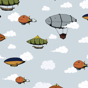 Blimps, Zeppelins, and Dirigibles
