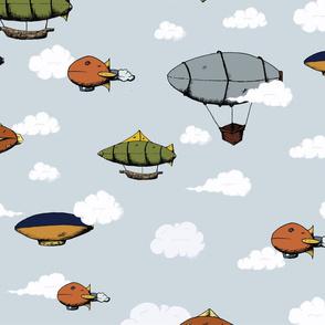 Blimps, Zeppelins, and Dirigibles