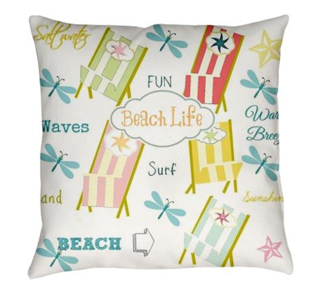 Ocean Way  - pacific Beach Llife -tangerine