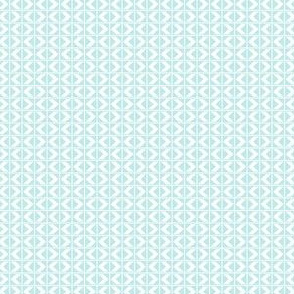 Aunty Bella's Southwest Chevron Darts - Baby Blue and White