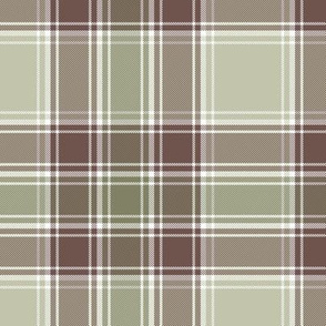 MacDonald hunting tartan - weathered colors