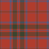 MacDonald red tartan - ancient colors