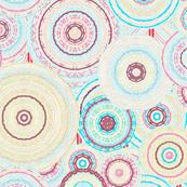 Sand textured spirals