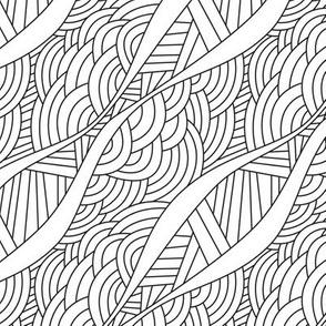 Linear doodle