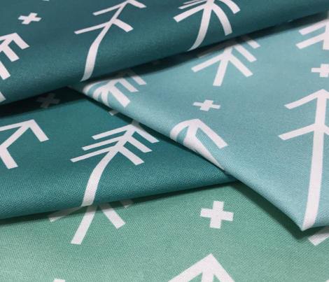 cross plus arrows faded teal