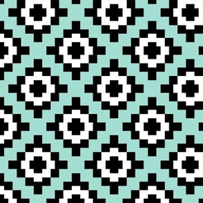 Mint West by Southwest (limited palette) by Su_G