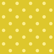 Yellow polkadots - green base