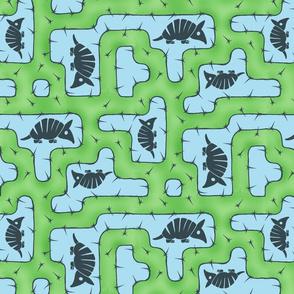 Armadillo Cactus Maze