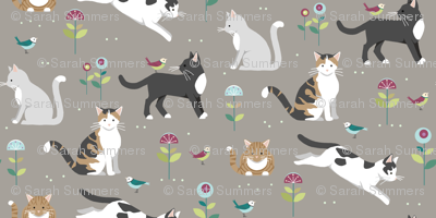 Ramended_kitty_in_beigespoonflower_preview