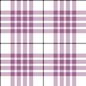 Buchanan dress mauve (dance) tartan