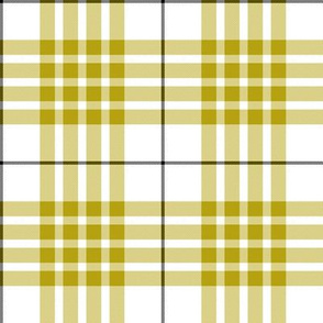 Buchanan dress yellow tartan