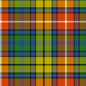 Buchanan Ancient tartan - warm modern colors