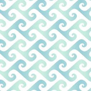 pale blue tendrils