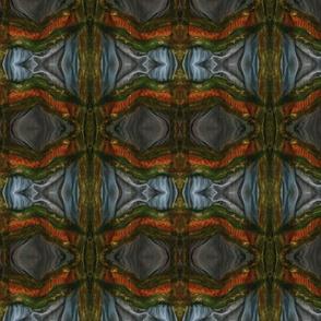 felt stripe mirrored