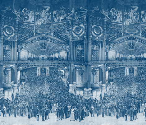 Palais Des Industries Diverses ~ Lonely Angel Blue and White