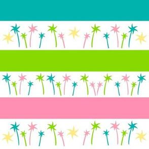 Aloha Palm Stripes